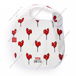 "Нагрудник на липучке ""WATER-PROOF BABY BIB"" Happy Baby арт.16009"